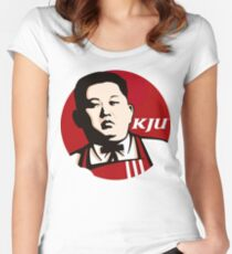 the great kju Women's Fitted Scoop T-Shirt