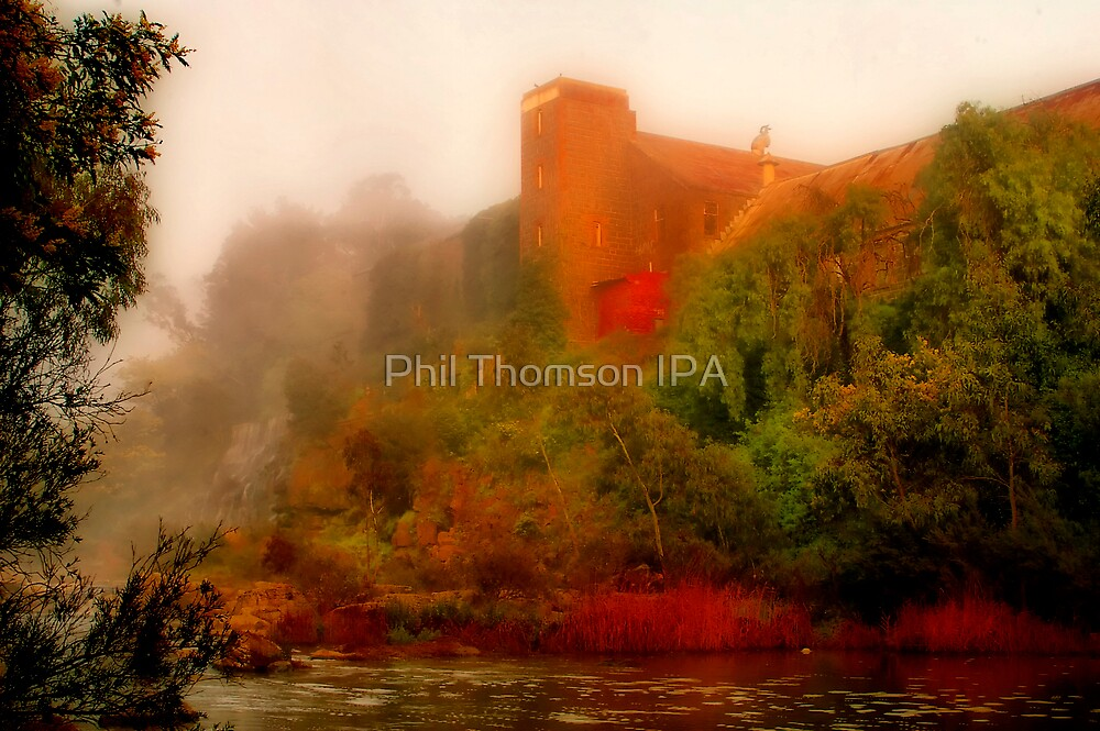 """""""Morning Mist at the Mill"""" by Phil Thomson IPA"""