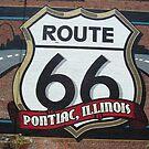 route 66 art by mpeakclewett