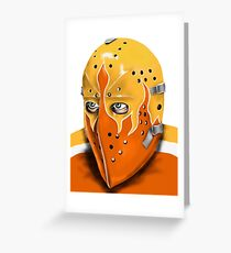 Philadelphia Hockey Goalie Mask Greeting Card