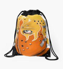 Philadelphia Hockey Goalie Mask Drawstring Bag