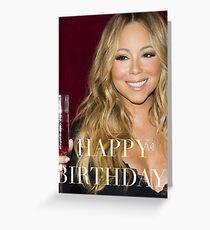 Mariah Happy Birthday Card Greeting Card