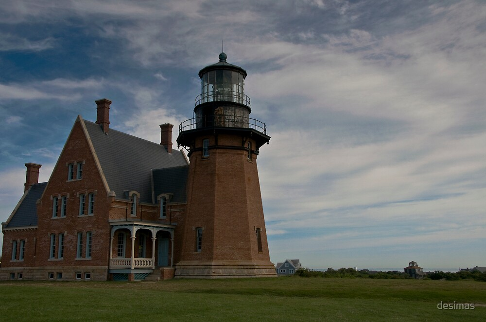 Block Island - South Lighthouse by desimas