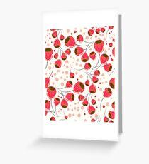 Liebe Tulips Greeting Card