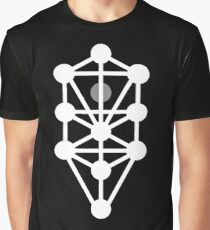 Tree of Life - Monochrome Graphic T-Shirt