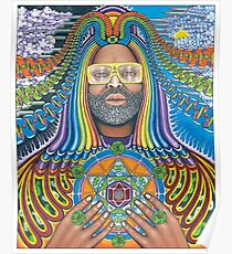 George Clinton Is A Funk Boss Poster