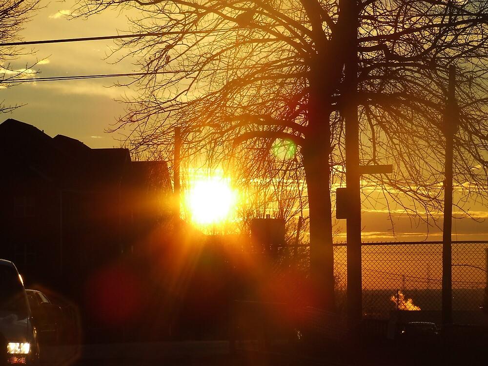 Peeking Sun by wldman68
