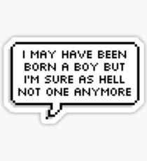 Total Trans Girl Sticker