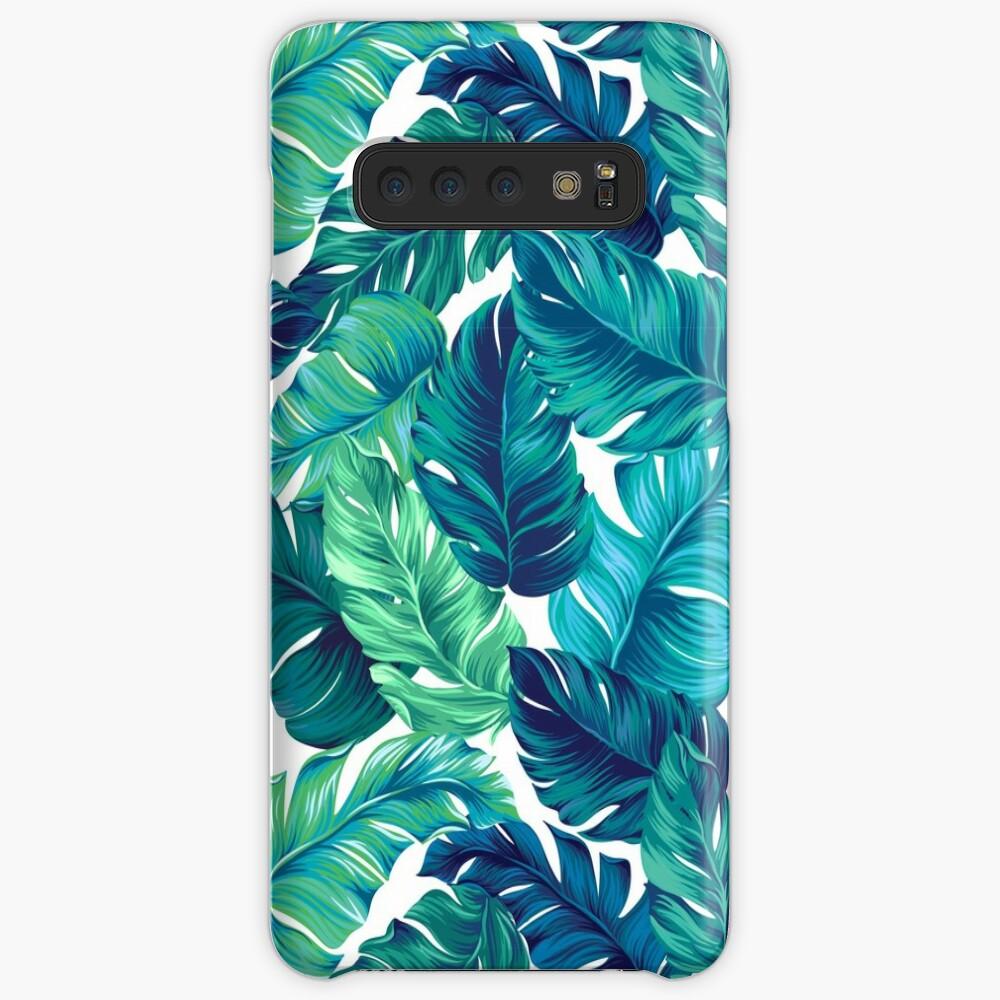 Funky banana leaf pattern.  Case & Skin for Samsung Galaxy