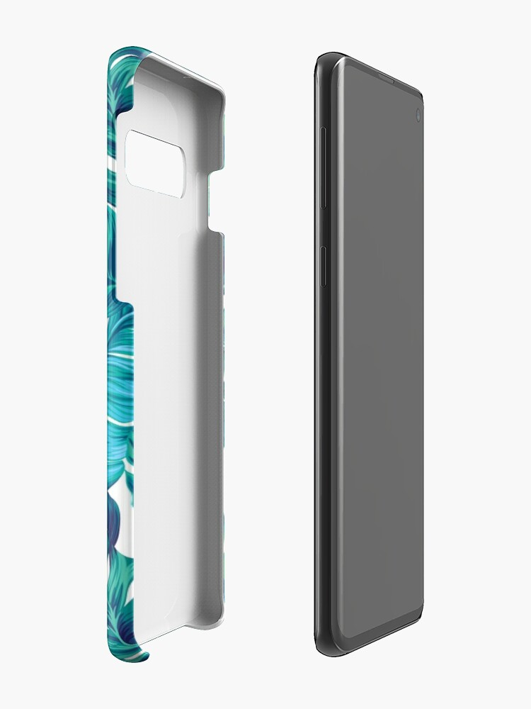 Alternate view of Funky banana leaf pattern.  Case & Skin for Samsung Galaxy