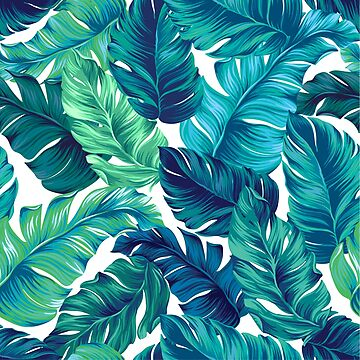 Funky banana leaf pattern.  by belokrinitski