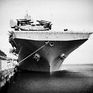 USS Bonhomme Richard by Karen E Camilleri