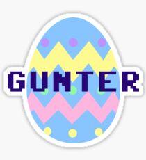 Gunter Sticker