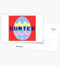 Gunter Postcards