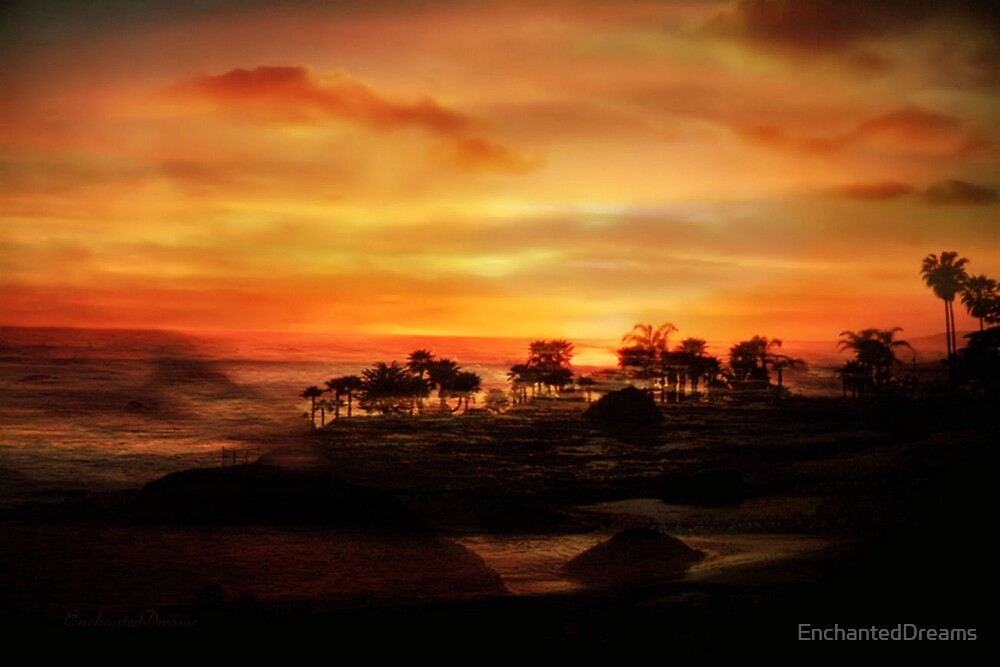 Sunset Island by EnchantedDreams