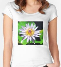 Waterlily Women's Fitted Scoop T-Shirt