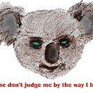 Please don't judge me! by David Fraser