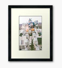Gundam Time! Framed Print