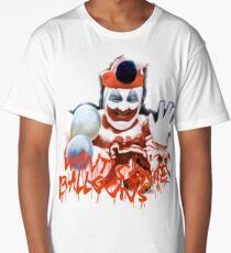 john gacy serial killer print clown  Long T-Shirt