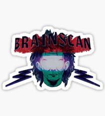 SCAN THE BRAIN - WEATHERED v1 Sticker