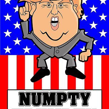 Numpty Trumpty by goofyfootartist
