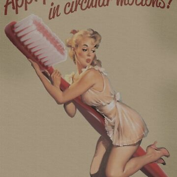 Vintage Posters, Funny, Dentist. by Tee-Art
