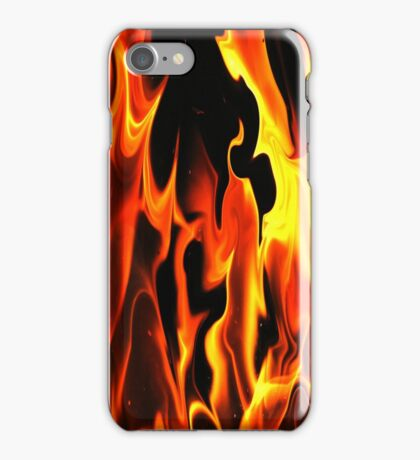 Black Fire-Available As Art Prints-Mugs,Cases,Duvets,T Shirts,Stickers,etc iPhone Case/Skin