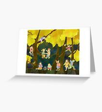 Children in Heaven Greeting Card