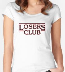 Stephen King's It - Losers Club  Women's Fitted Scoop T-Shirt