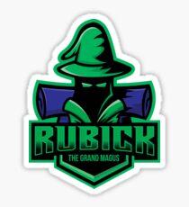 Rubick - The Grand Magus DotA2 Hero Sticker