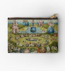 Garten der irdischen Freuden Kleid von Bosch Täschchen