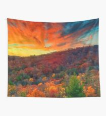 Autumn in North Carolina Wall Tapestry