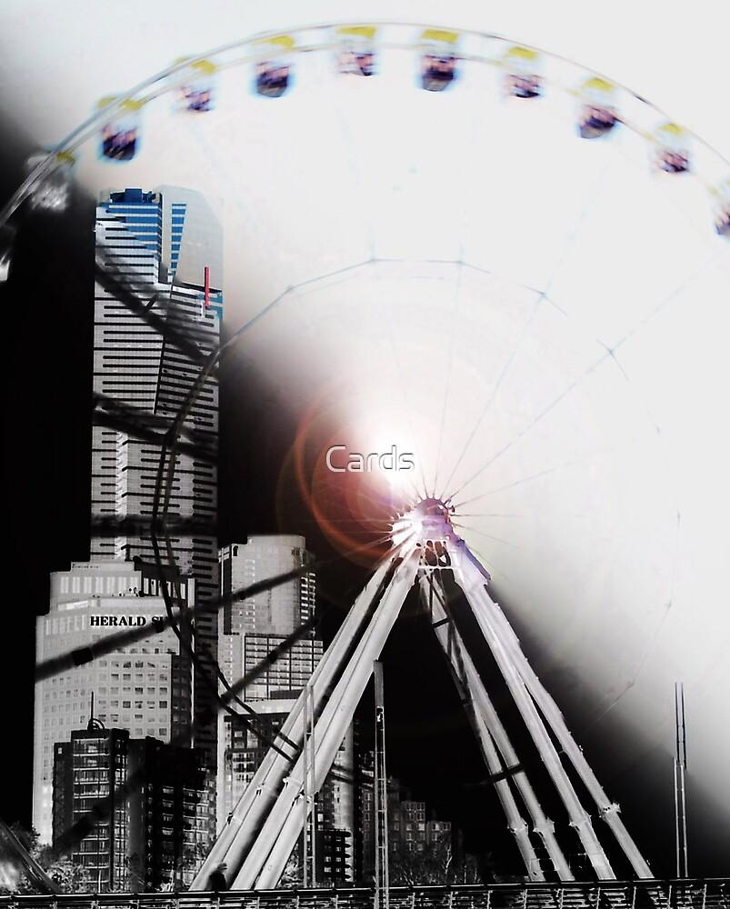 Ferris Wheel 1 by Cards
