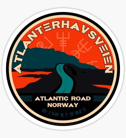 Atlanterhavsveien 1 - Atlantic Ocean Road Norway Sticker