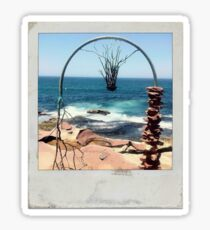 Polaroid - Sculptures by the Sea Sticker