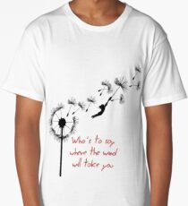 u2 kite for white Long T-Shirt