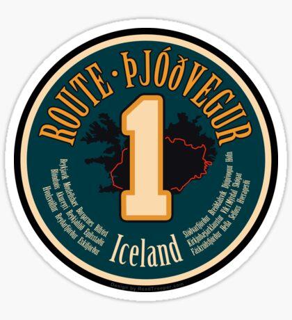 Route 1 - Iceland Sticker