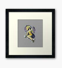 Betty's Bees Framed Print