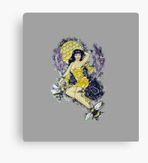 Betty's Bees Canvas Print