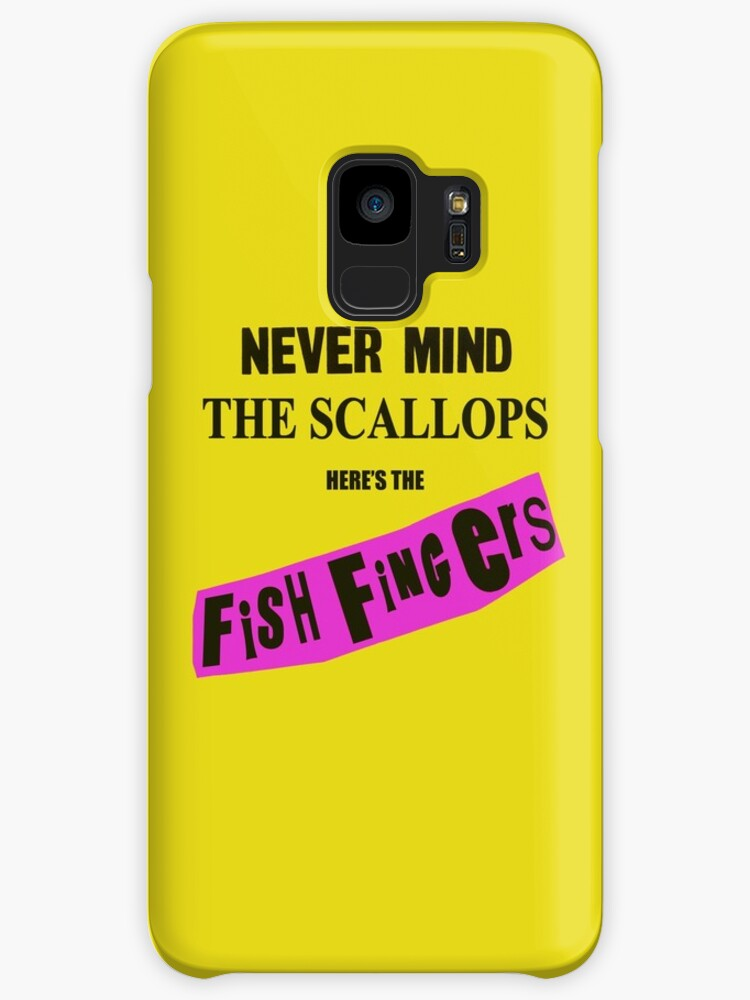 NEVER MIND THE SCALLOPS- HERE'S THE FISH FINGERS- Funny Punk  by Ice-Tees