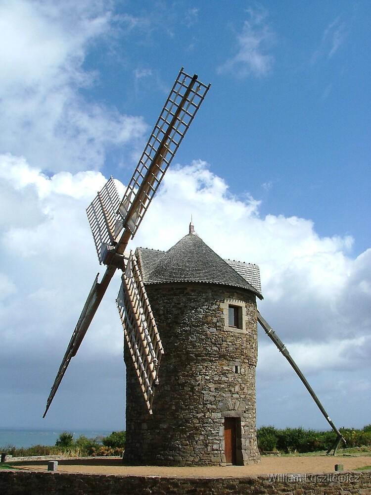moulin d'Aquitaine by william lyszliewicz