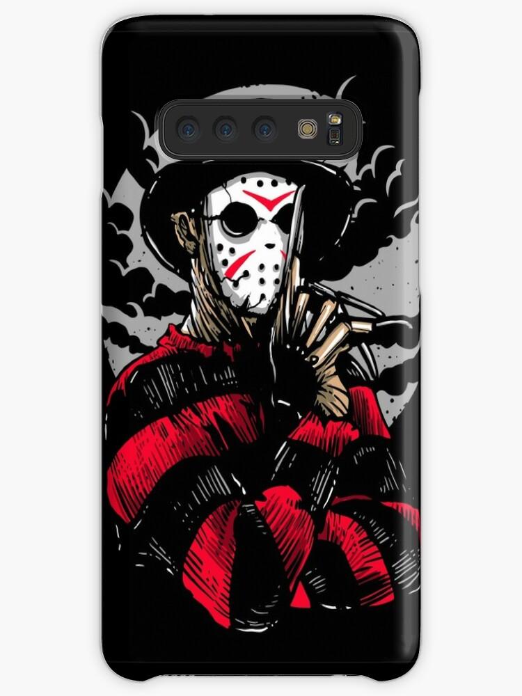 Jason vs Freddy Horror Gothic 3 iphone case