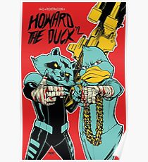 Run The Jewels Howard The Duck RTJ Poster