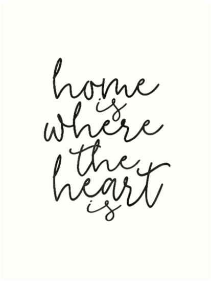 HOME SWEET Home Is Where The Heart IsHome SignHome Wall