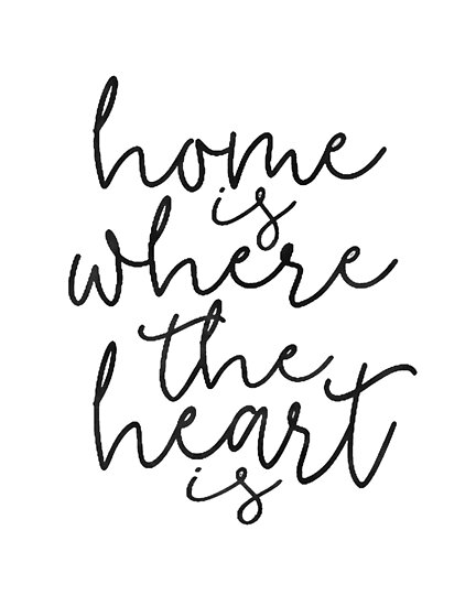 Home Sweet Home Home Is Where The Heart Ishome Signhome Wall