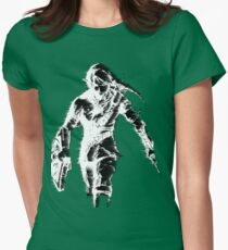 Stylized Legend of Zelda Link Womens Fitted T-Shirt