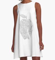 New York New York Big Apple A-Line Dress