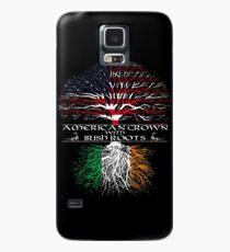 Amerikanisch mit irischen Wurzeln angebaut Hülle & Skin für Samsung Galaxy