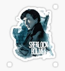 holmes movie series Sticker