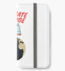 climate change  iPhone Wallet/Case/Skin